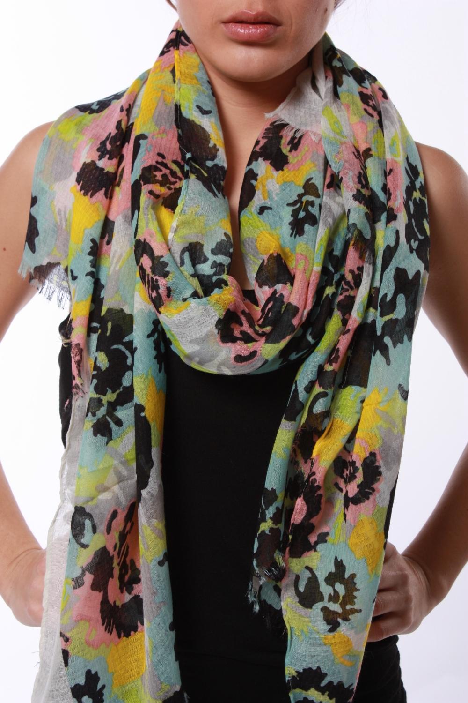 9f8d2ac4813 Foulard motif imprimé fleur - KMode E-shop